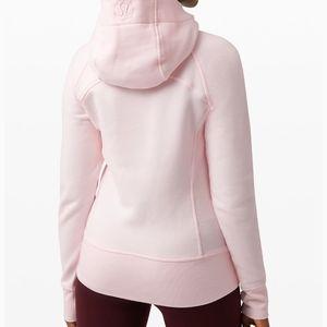 Lululemon Scuba Full Zip Hoodie Size 12 Pink